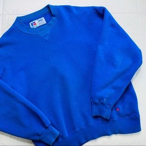 Russell Athletic Shirts - 90s Russell Athletic High Cotton Sweatshirt